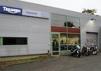 Ouverture d'un nouveau magasin Triumph à Toulouse.