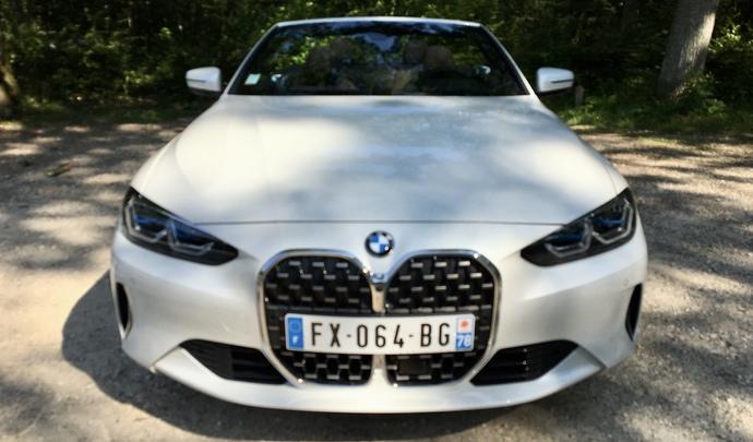 Essai – BMW Série 4 Cabriolet (2021) : elle aussi se refait une toile