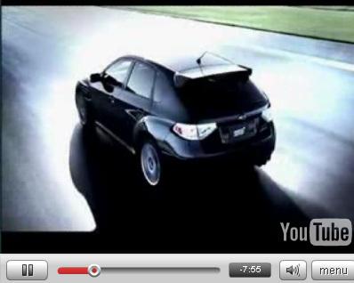 Vidéo : Subaru Impreza WRX STi sous toutes les coutures