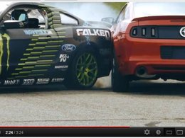 [vidéo] Ford Mustang : petit test qualité fumant en sortie de chaîne