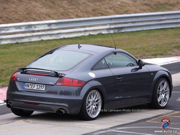 Audi TT-RS : avec un 5 cylindres 2.5 TSI de 348 ch ?