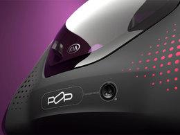 Mondial de Paris 2010 : le Concept électrique Kia POP veut faire bouger votre tête !