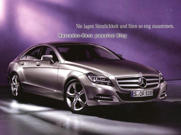 La nouvelle Mercedes CLS se dévoile grâce à sa brochure
