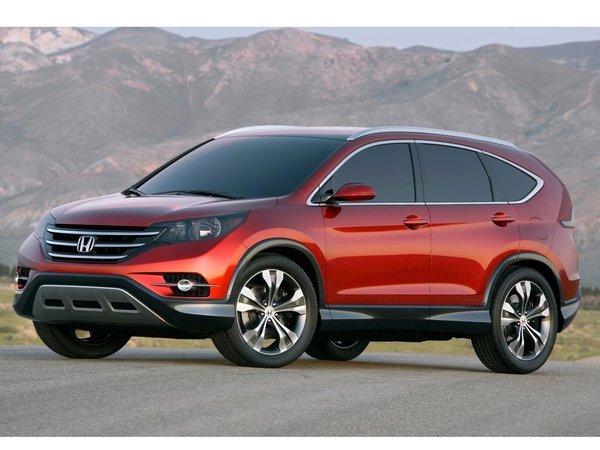 Honda CR-V Concept : le quatrième du nom