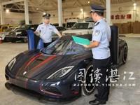 Une Koenigsegg unique bloquée à la douane chinoise