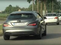 Scoop : le Mercedes CLA Shooting Brake restylé se montre en vidéo