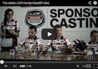 Gloryfy et LCR Honda ou la rencontre d'un team et de l'un de ses sponsors... en vidéo