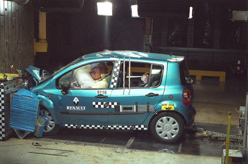 Renault Modus : 5 étoiles à EuroNcap
