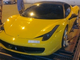Encore une Ferrari 458 Italia détruite, cette fois dans l'incendie d'un entrepôt