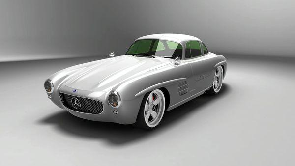 Mercedes 300 Sl Gullwing Panamericana Replica Vraie Ou