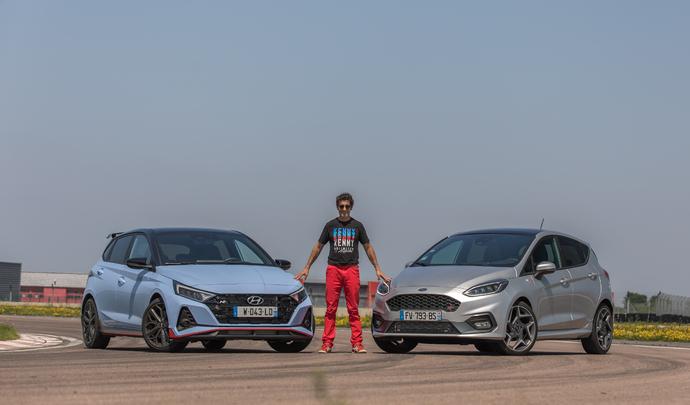 Comparatif vidéo - Ford Fiesta ST VS Hyundai i20 N : les survivantes