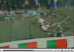 Vidéo : accident en (très) gros plan