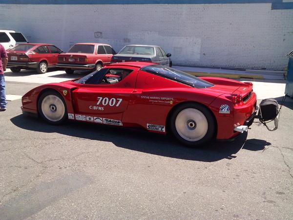 Une Ferrari Enzo détruite totalement reconstruite et équipée de deux turbos : 1000 chevaux pour un record de vitesse
