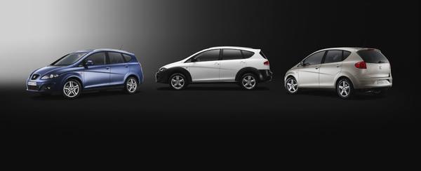 SEAT León, Altea et Altea XL : dépoussiérage 2009