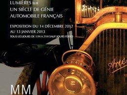 """Exposition : """"Lumière sur un siècle de génie automobile français"""" par Régis Mathieu"""