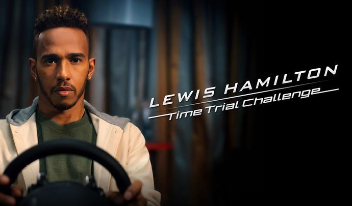 Lewis Hamilton défie les joueurs sur Gran Turismo Sport