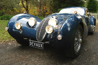Devaux Coupé: fille de Bugatti