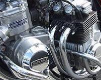 La 750 Suzuki GT 3 cylindres 2 temps à eau