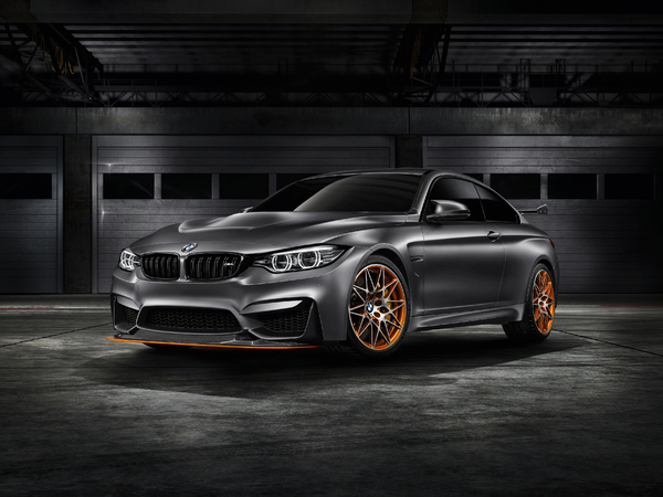 Pebble Beach : BMW Concept M4 GTS