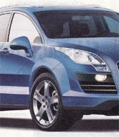 L'hypothèse Peugeot 6008