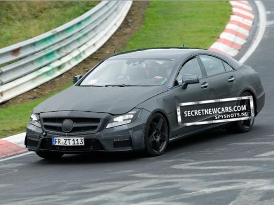 Spyshot : la prochaine Mercedes CLS 63 AMG finit de se préparer
