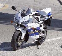 Police croate en action