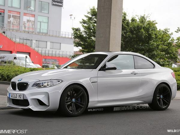 Surprise : voici la BMW M2