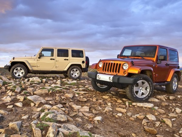 Officiel : quelques modifications pour le Jeep Wrangler