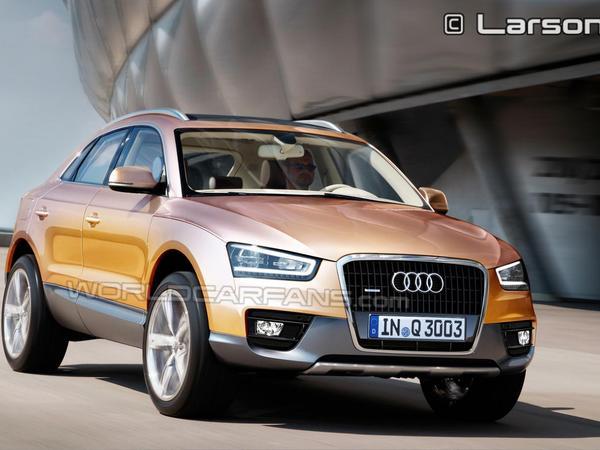 Audi Q3 : comme ça ?