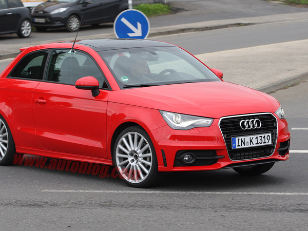 La future Audi S1 surprise en test