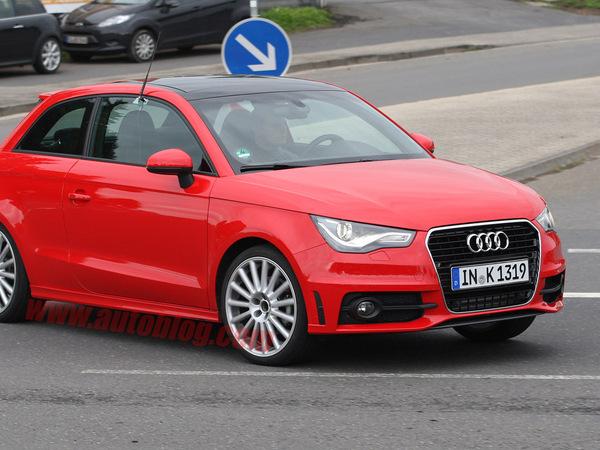 La future Audi S1 surprise en test
