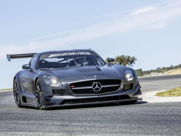 Future Mercedes SLS AMG Black Series: 630 ch