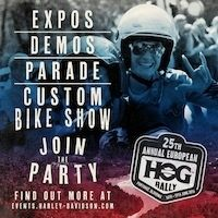 25ème Européan H.O.G Rally en Slovénie du 16 au 19 juin prochain
