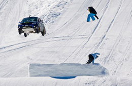 Subaru Impreza Big Jump: Ken Block remet ça sur la neige (ajout vidéo)