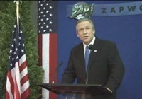 USA : George W. Bush soutient un projet écologique