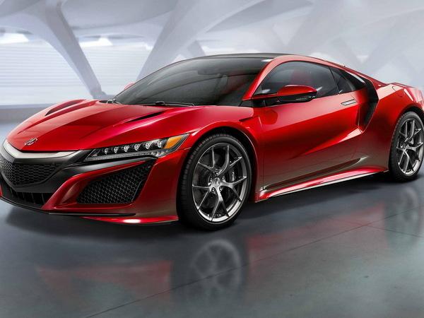 Honda reporte le lancement de la NSX
