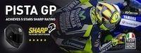 AGV Pista GP: 5 étoiles au test anglais S.H.A.R.P