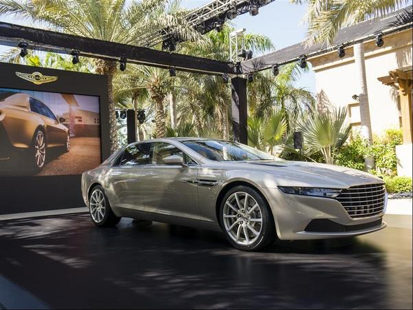Aston Martin : 1 million d'euros pour la Lagonda