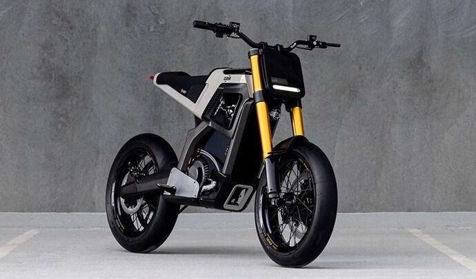 L'entreprise française DAB Motors présente sa première moto électrique