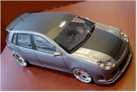 Miniature tuning : VW Polo RS