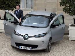 Brèves de l'éco - La Renault Zoé bientôt voiture officielle de l'Elysée?