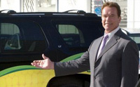 Schwarzenegger pousse à la roue verte