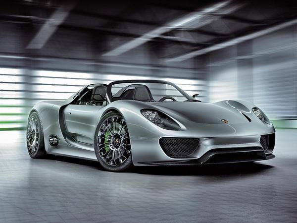 Une puissance supérieure aux 718 ch du concept pour la future Porsche 918 Spyder?