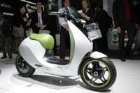 Mondial de l'Automobile 2010 : Smart expose l'E scooter