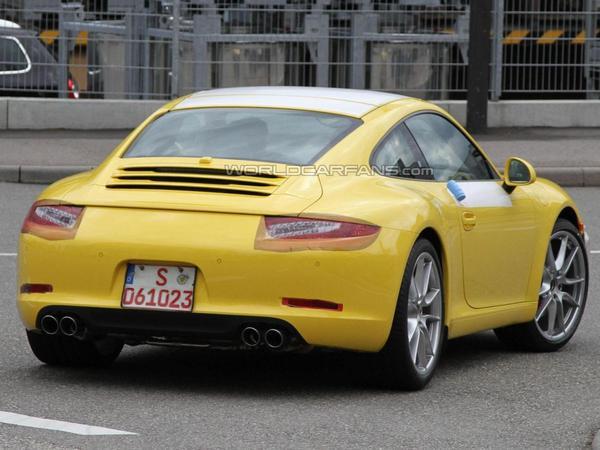 Future Porsche 911 type 991 : les prototypes se déshabillent toujours plus