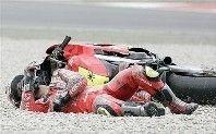 GP d'Espagne : nouvelles des pilotes accidentés.