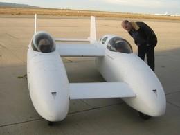 Model 367 : c'est le nom de code de la voiture volante hybride de Burt Rutan