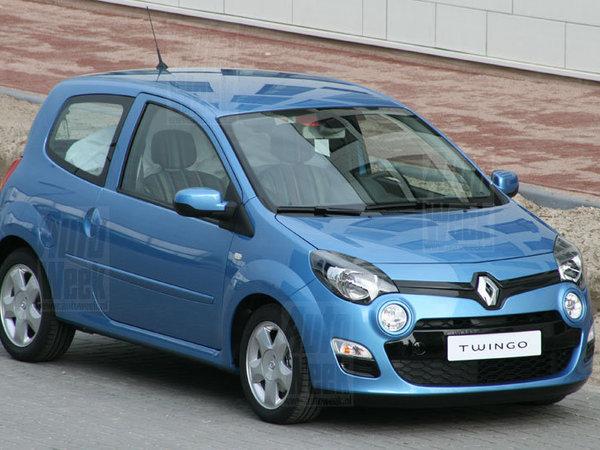 Future Renault Twingo restylée : première photo volée