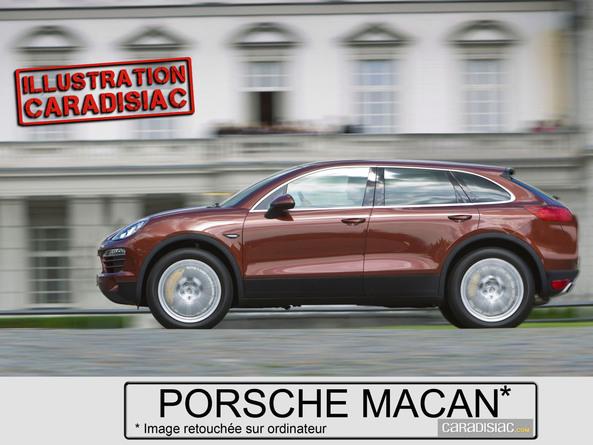 Porsche assure que le Macan est très différent d'un Audi Q5