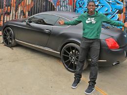 A 24 ans le skater Theotis Beasley roule déjà en Bentley